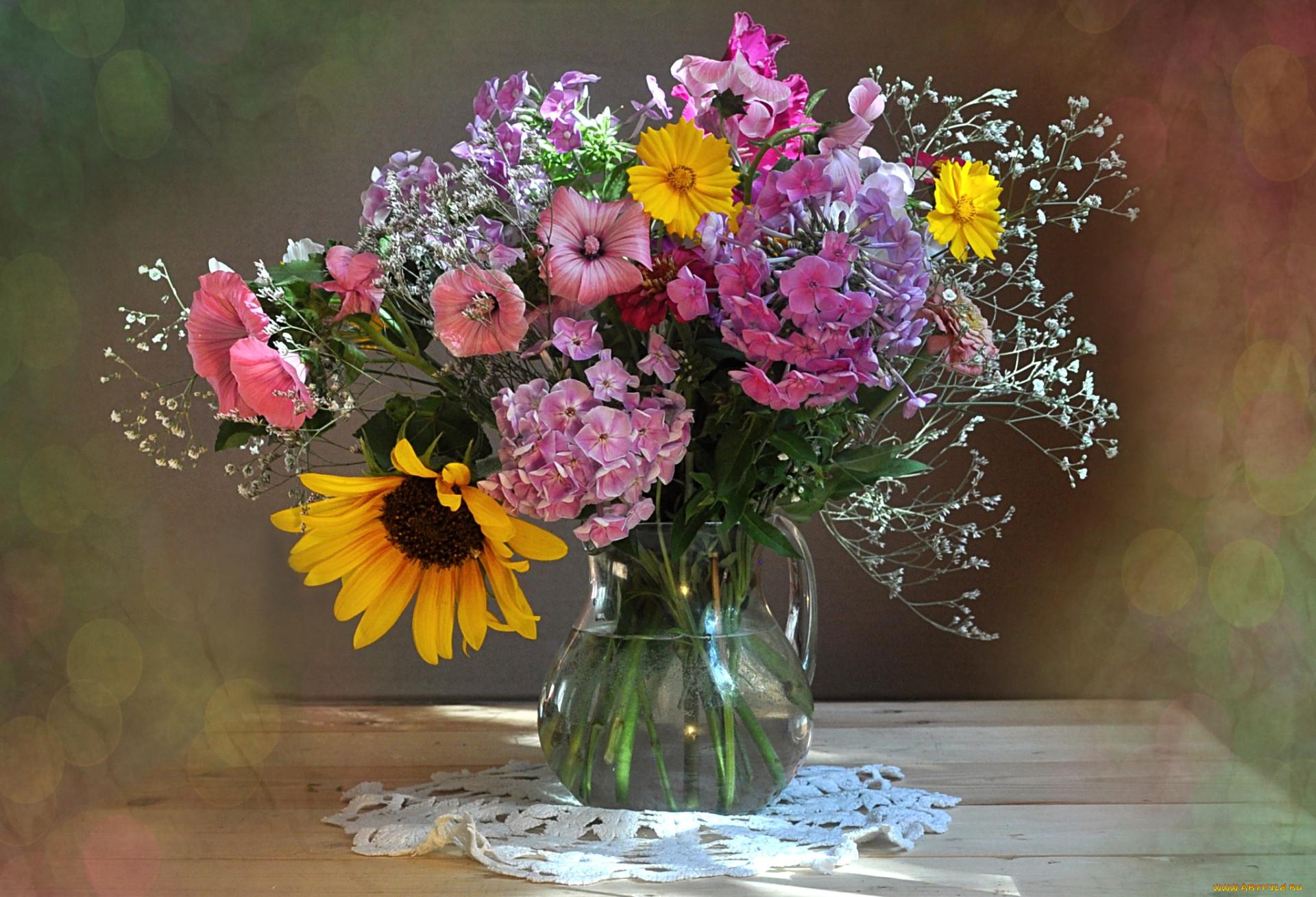 цветы лета в вазах картинки ритуал следует